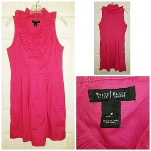 White House Black Market Dress Size 10 Pink